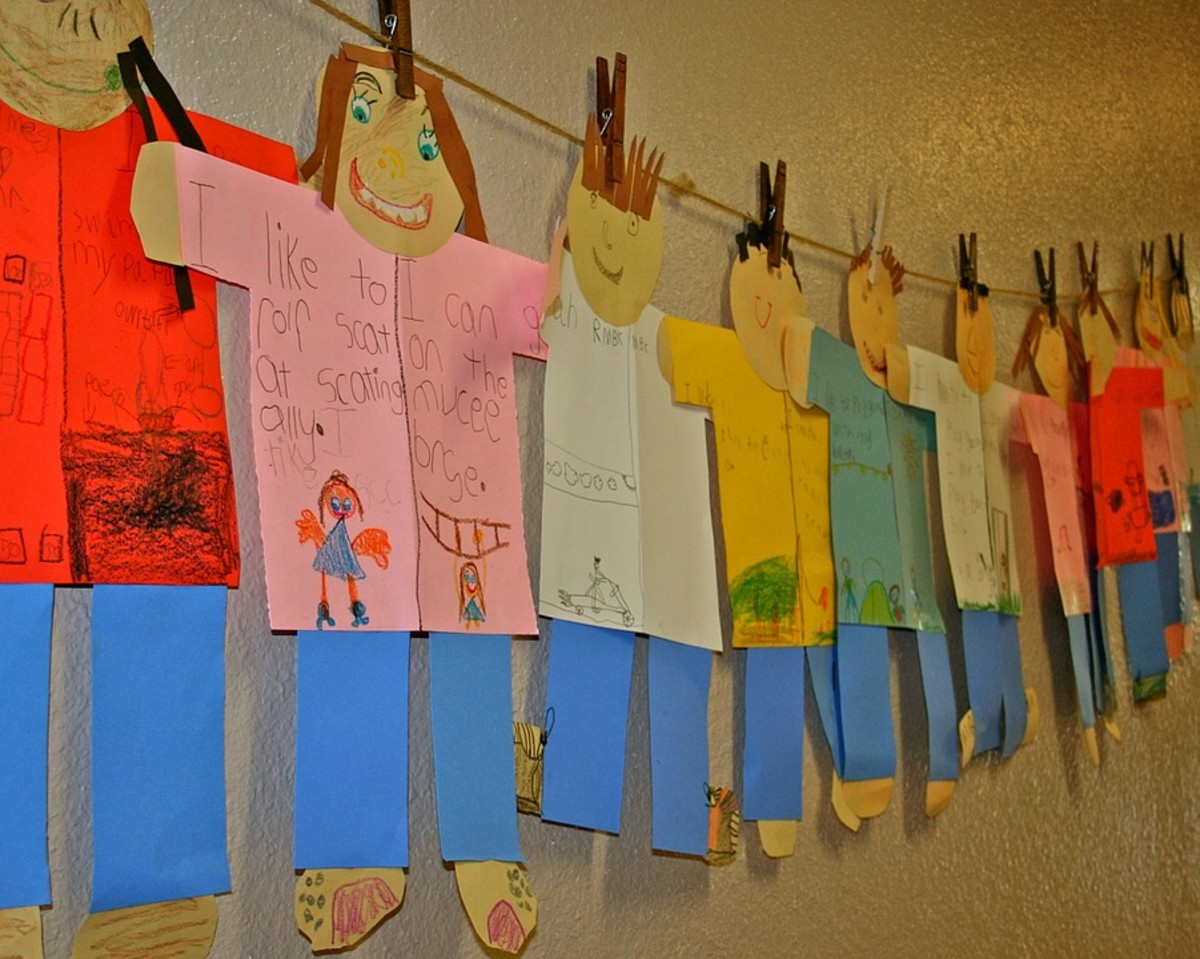 Allowing your students to express themselves through art projects is a fun way to build their confidence.
