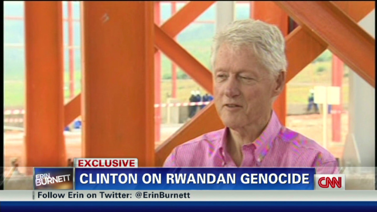 Pres. Bill Clinton Has Been Criticized for His Failure to Stop the Genocide
