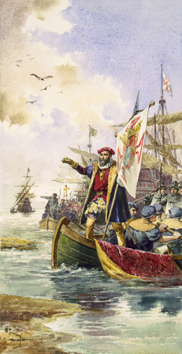 Vasco da Gama lands at Calicut, May 20, 1498. This event marks the start of modern colonisation of India. The most recent and important country that imposed colonial rule on India was Great Britain.