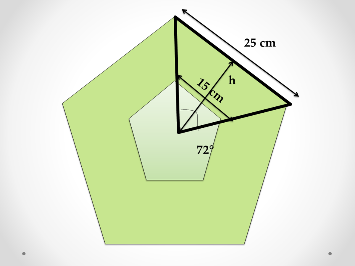 Area of Big and Small Polygons in Plane Geometry