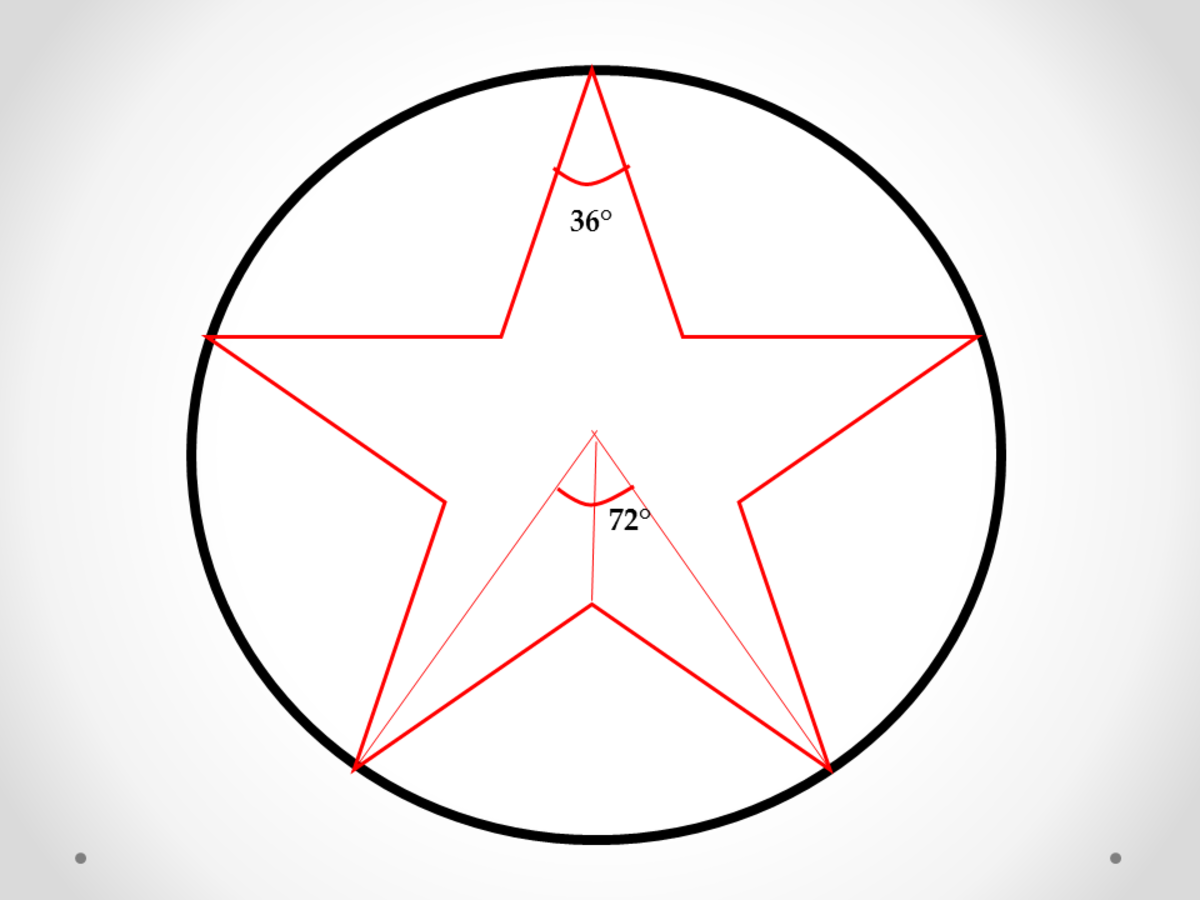 Five-Pointed Star Problems in Plane Geometry