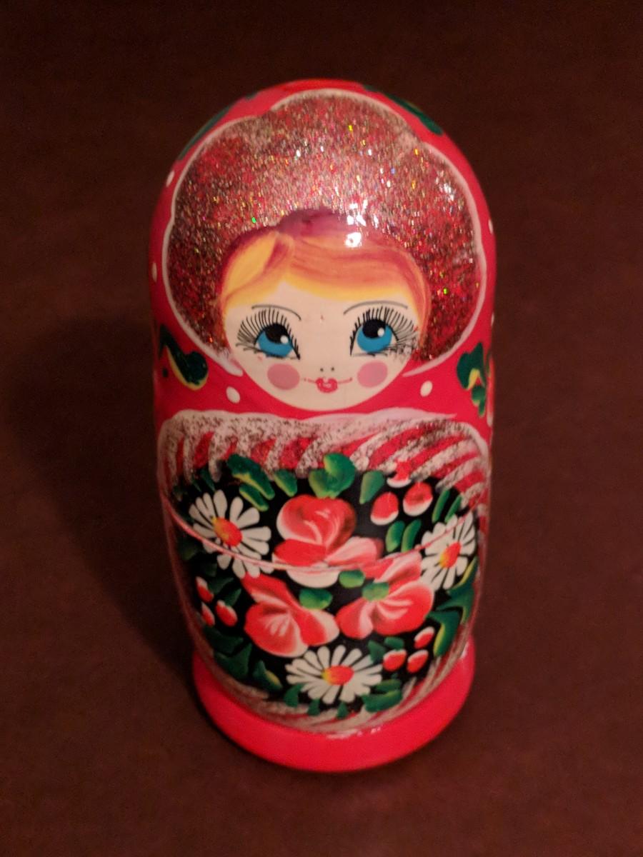 Russian Pertuska Doll