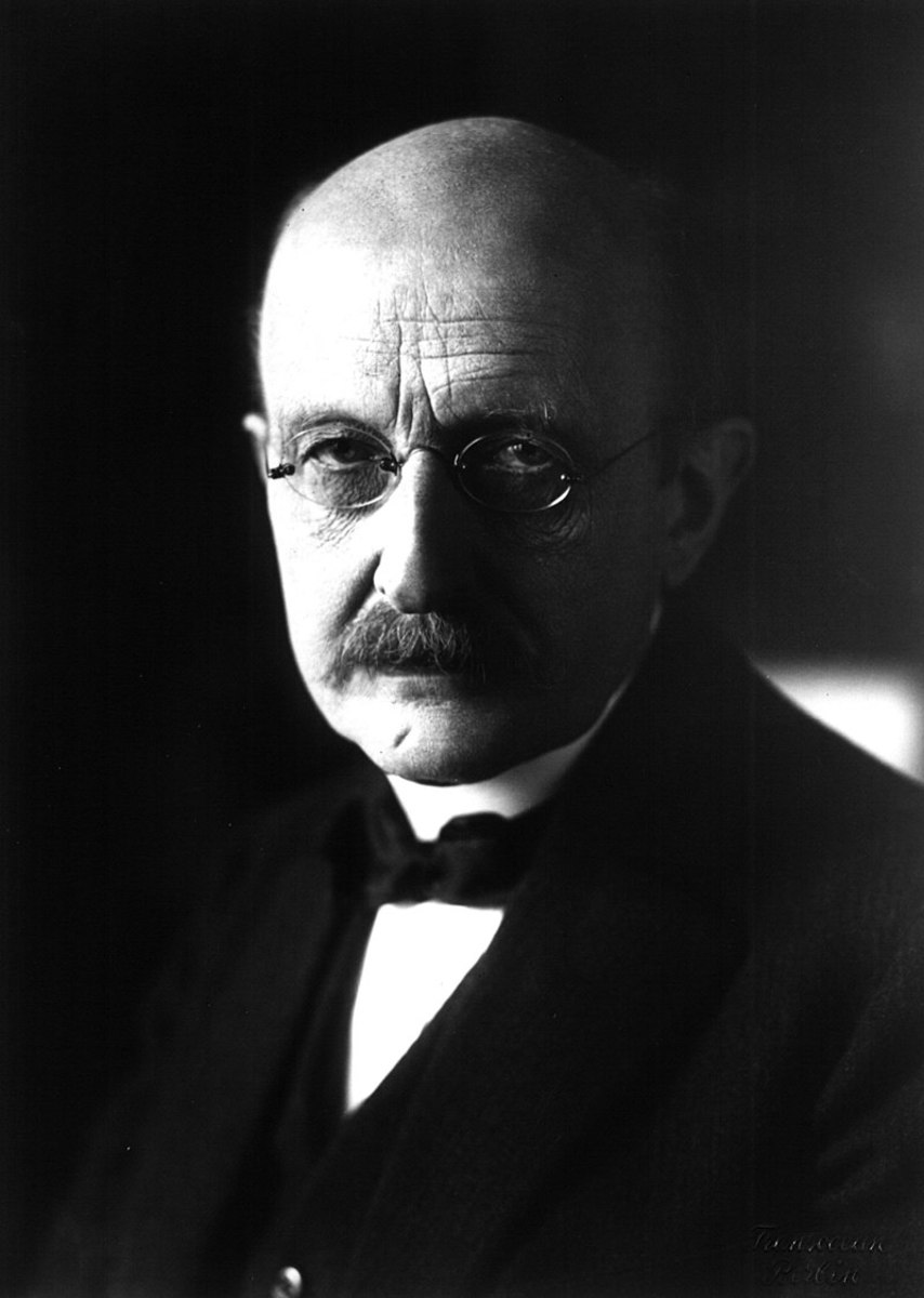 A photograph of Max Planck