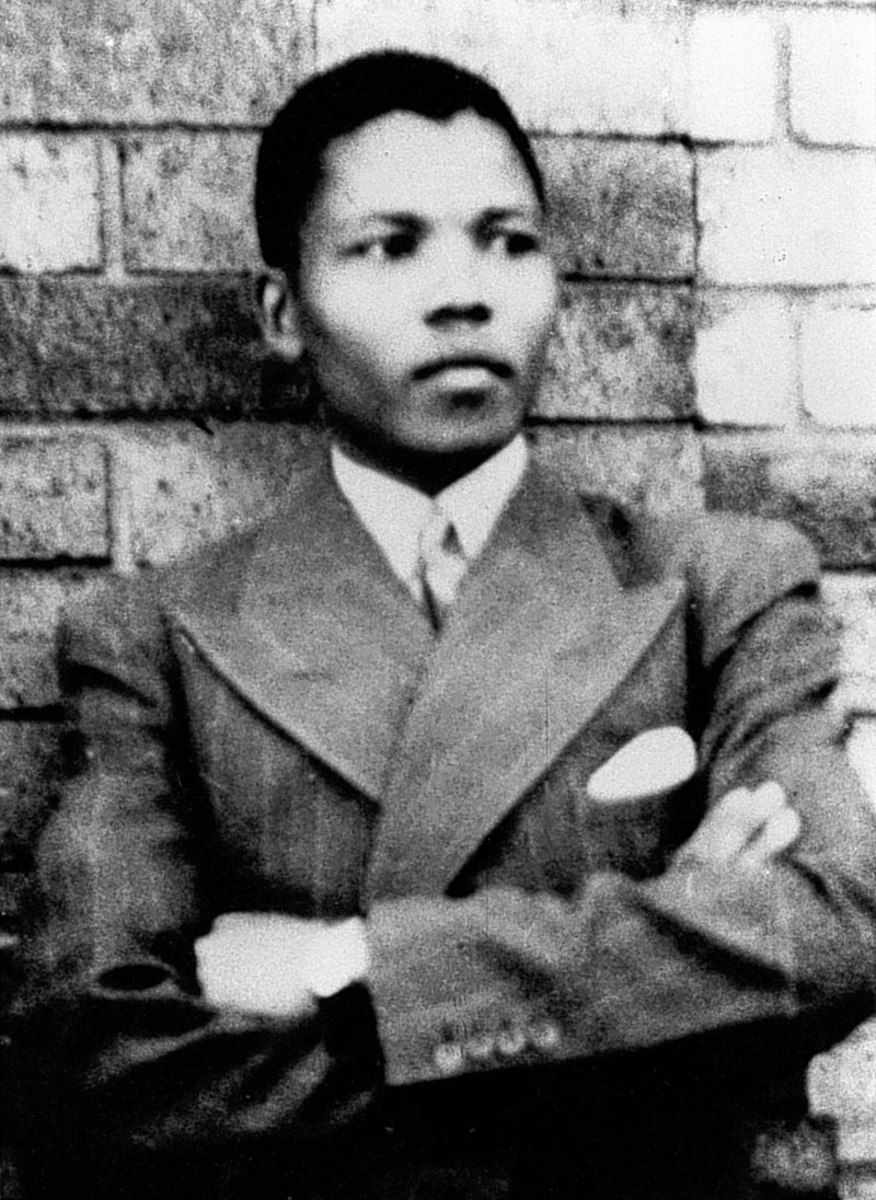 Photograph of Mandela, taken in Umtata in 1937