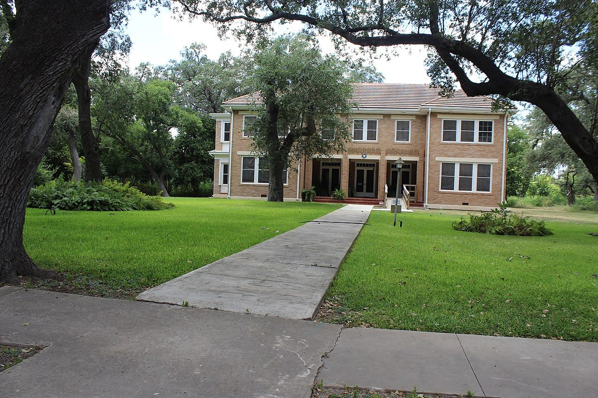 John Nance Garner home in Uvalde, Texas.