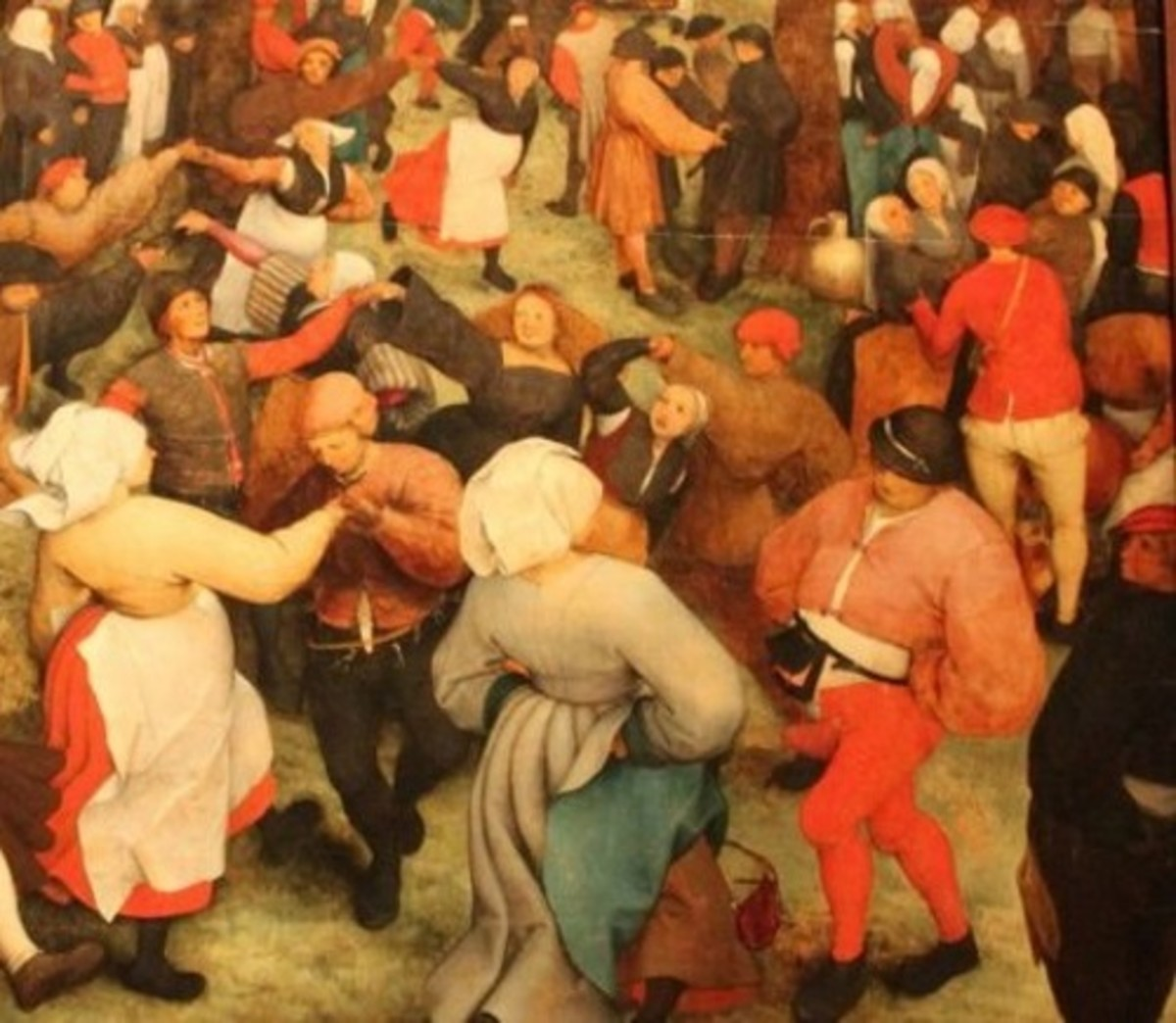 Hyperactivity, delirium, motor restlessness, and over-sexual excitement characterized the dance plague.