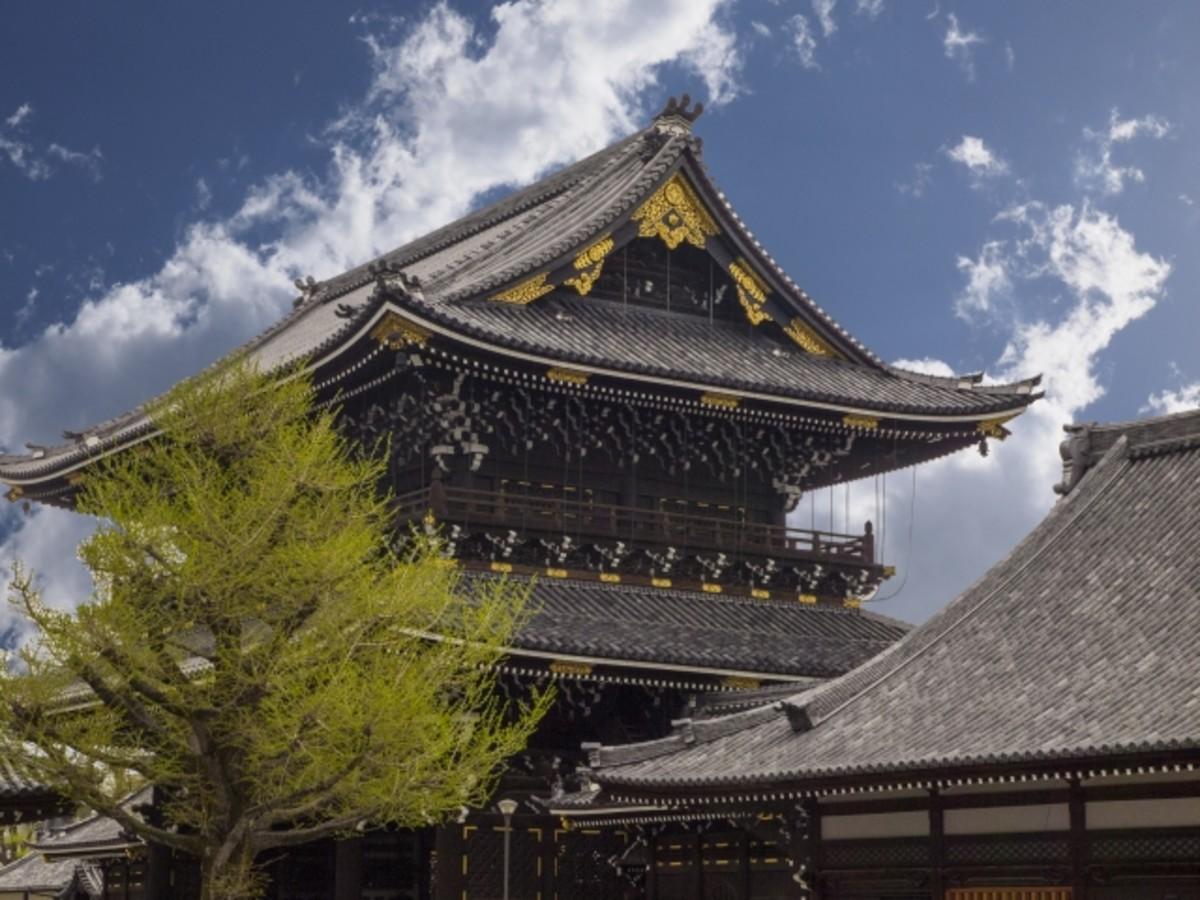 A Buddhist shrine