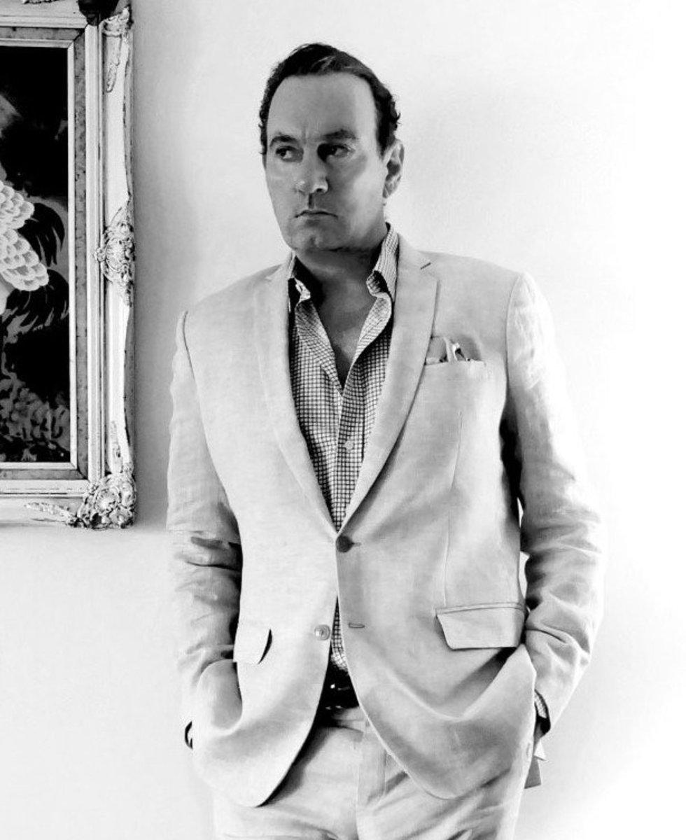 Lawrence Osborne, photo by Pasistha Kaewmak