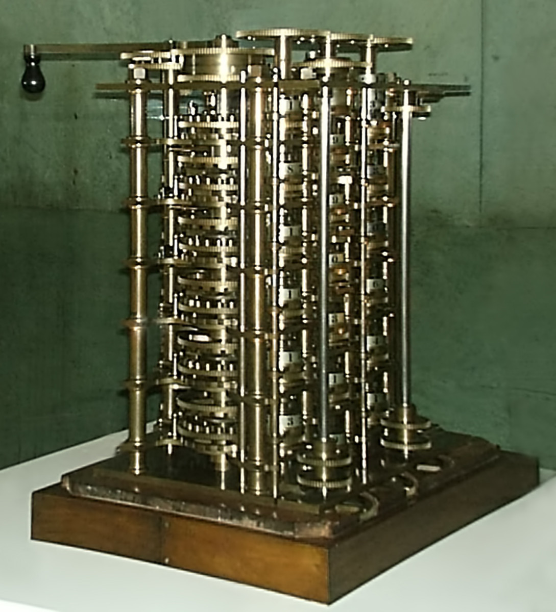 Charles Babbage's Difference engine No. 1 in Science Museum London