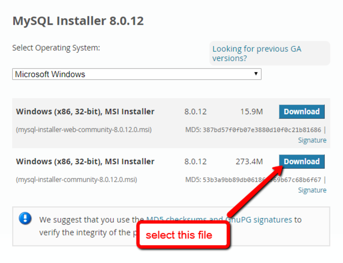 Choose the offline community installer. It already has the full features.