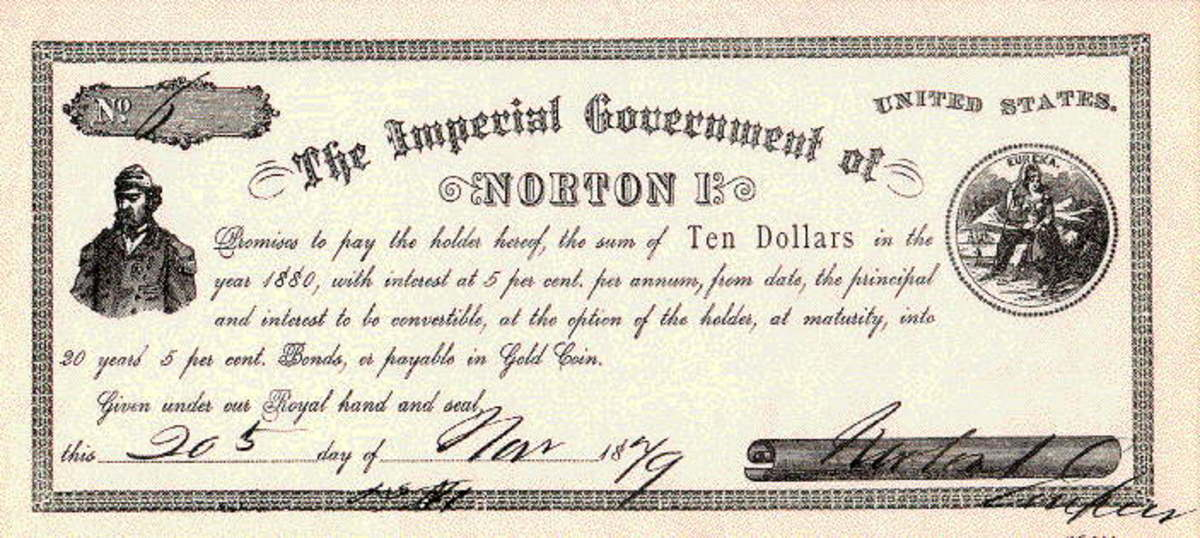 The Emperor's currency.