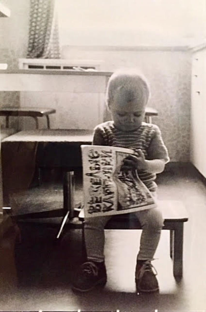 With a mind that was constantly racing  at a very young age, Antje was fascinated with any magazine or book she could get her hands on.