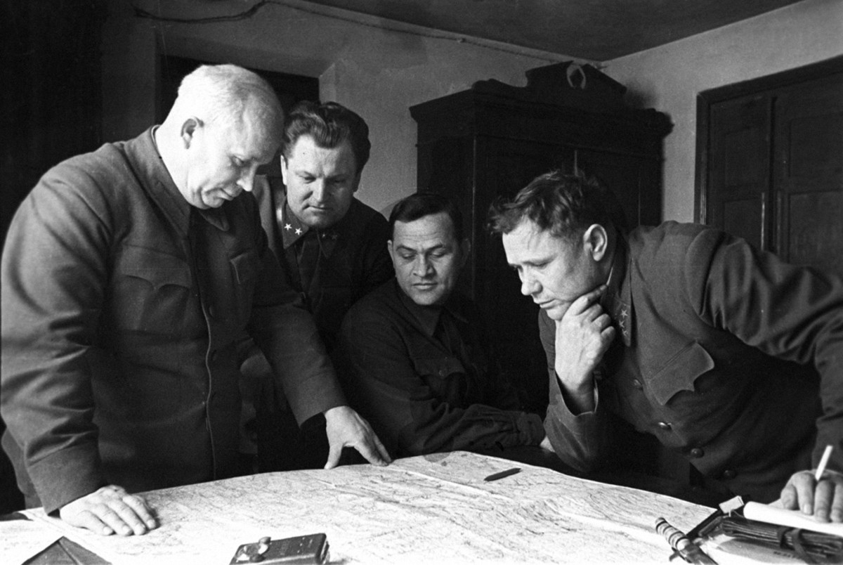 Khrushchev at the Battle of Stalingrad