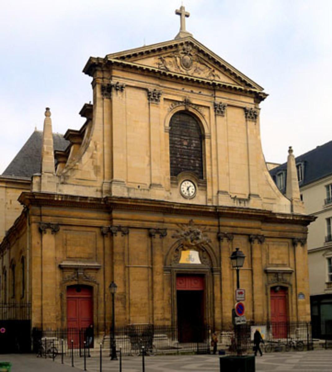 Notre Dame des Victoires in Paris