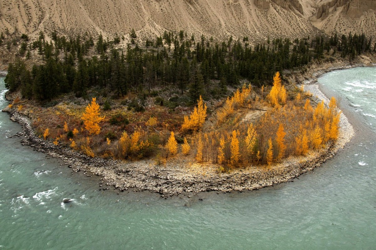 The Chilcotin River.