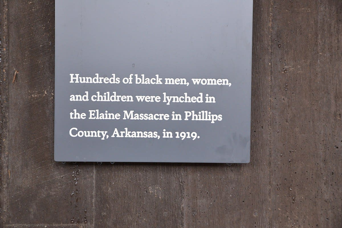 Memorial for Peace and Justice, Montgomery, Alabama.