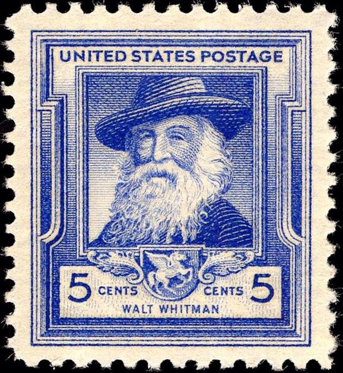 Walt Whitman - Commemorative Stamp