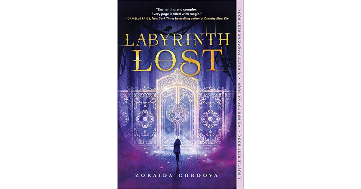 The cover of Labyrinth Lost by Zoraida Córdova