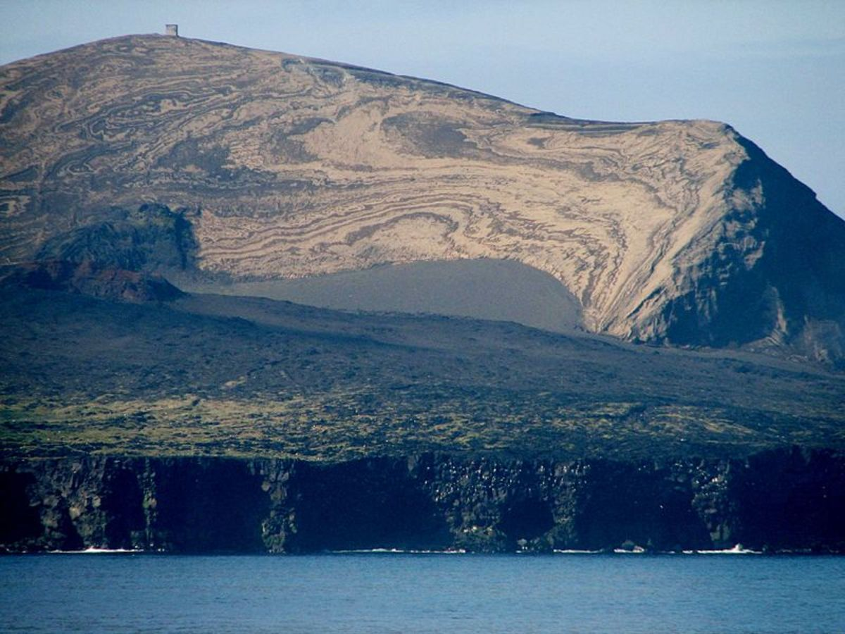 The volcanic island of Surtsey appeared south of Iceland in the Atlantic Ocean as recently as 1963