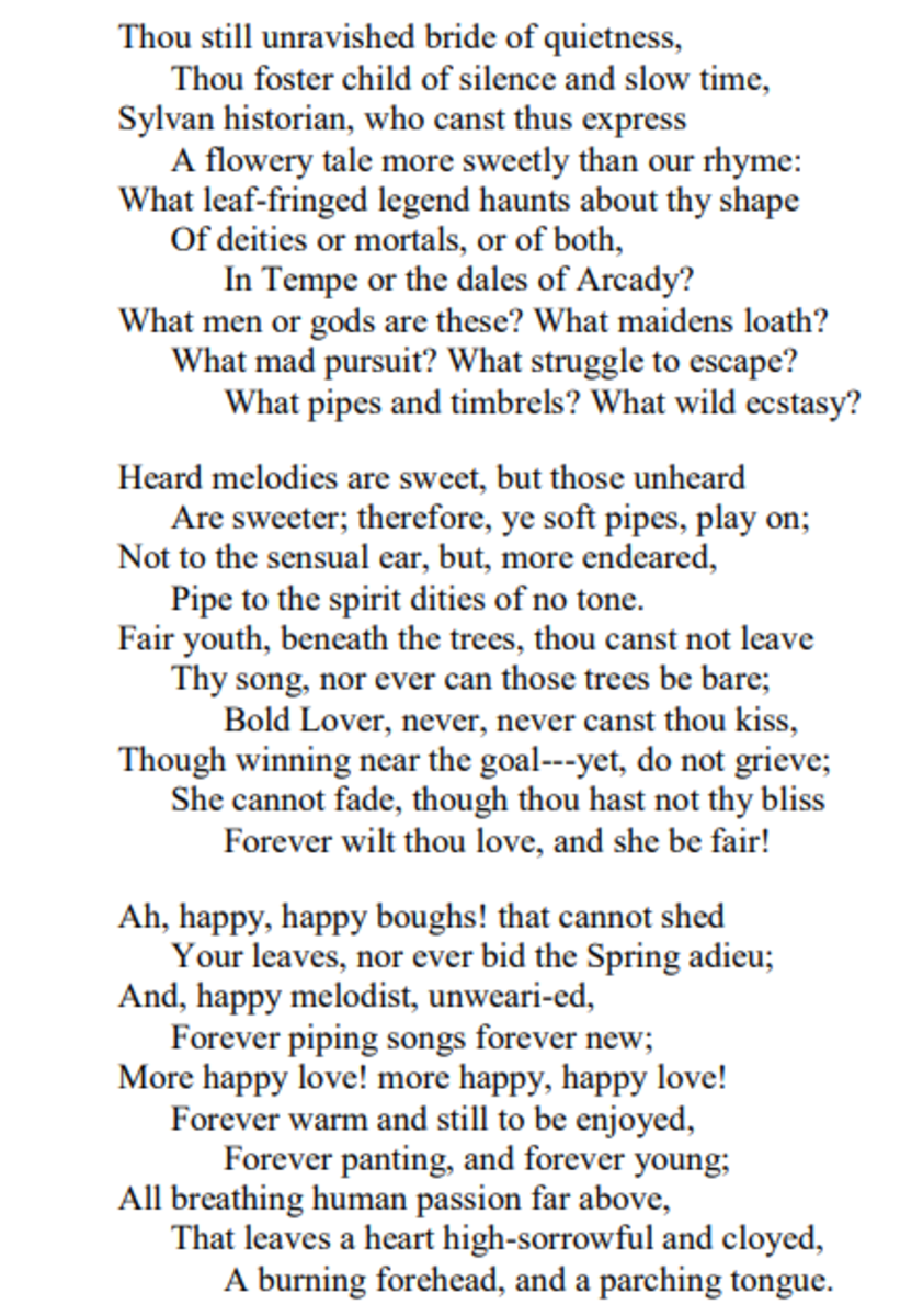 analysis-of-poem-ode-on-a-grecian-urn-by-john-keats