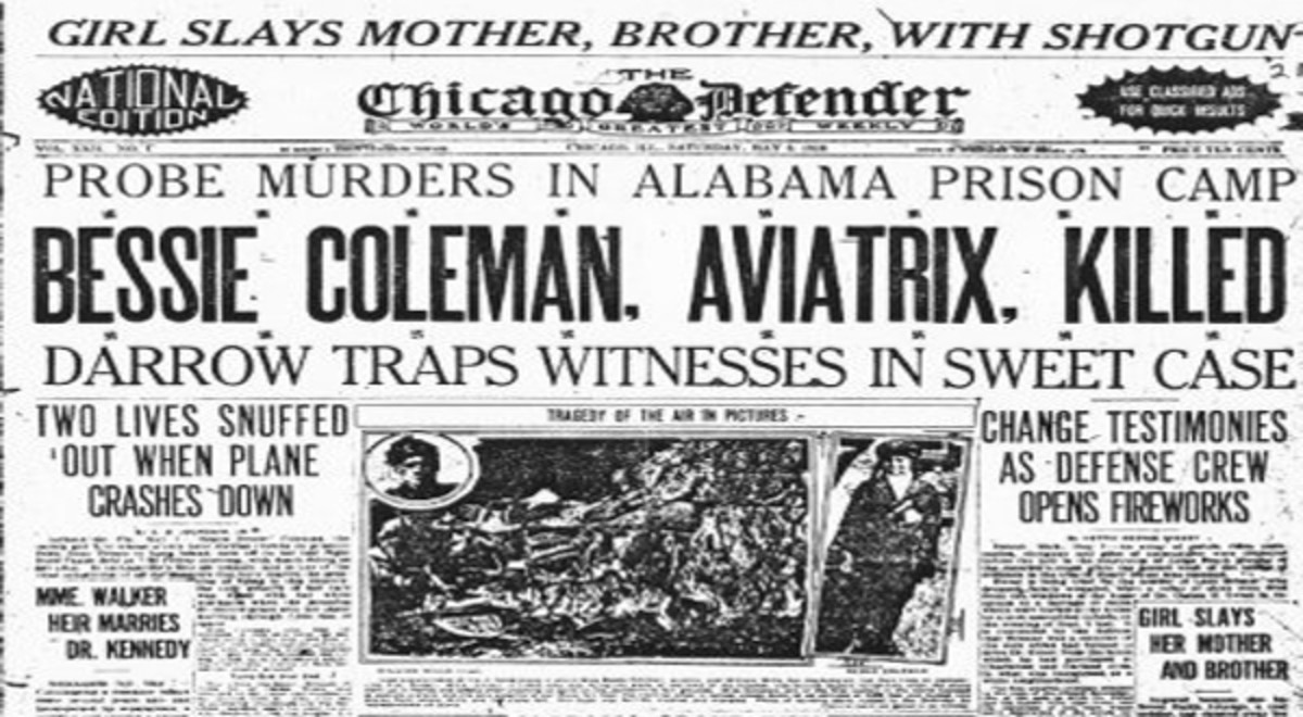 Newspaper article about Betsy Coleman's death