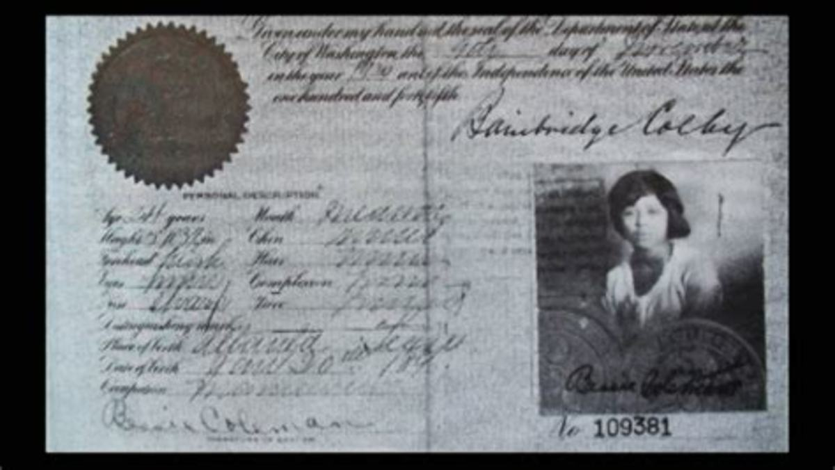Betsy Coleman pilot's license