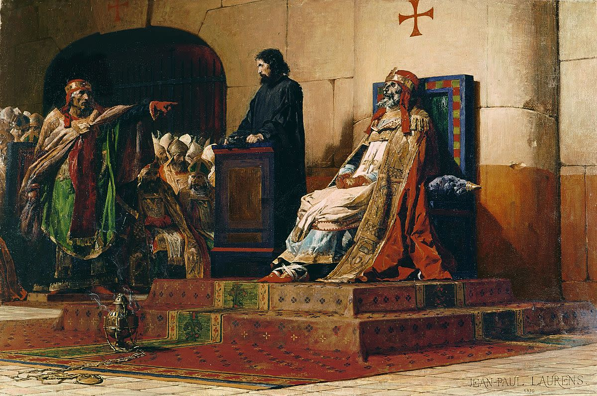 The trial of a dead pope became known as the Cadaver Synod.