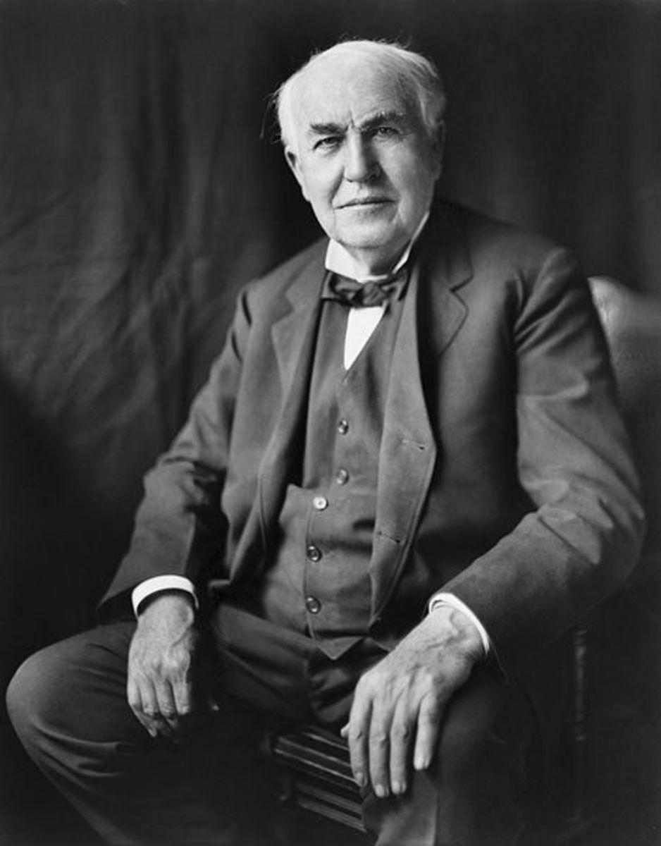 Thomas Alva Edison in 1922
