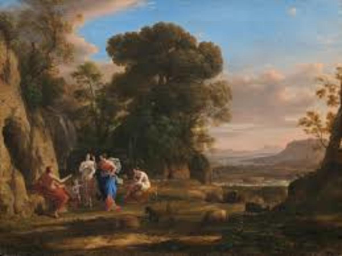 Landscape with the Judgment of Paris