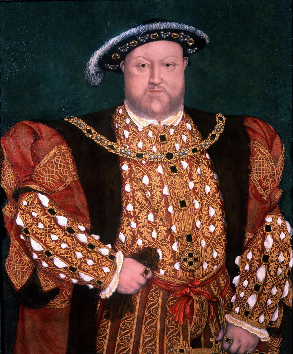 King Henry VIII when older