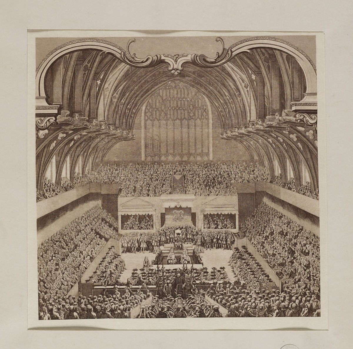 Lord Lovat's trial played to a full house in Westminster Hall.