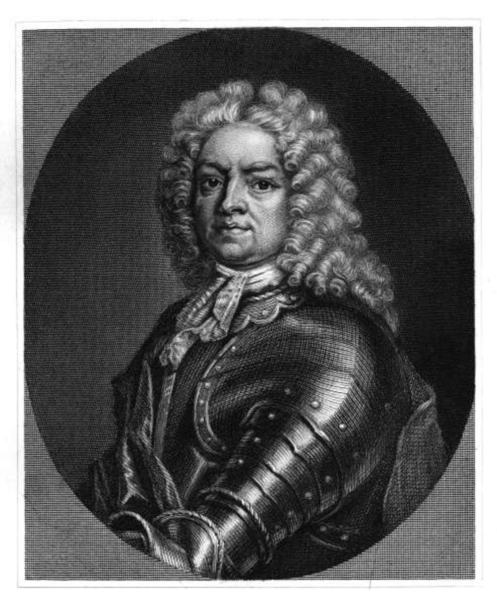 Lord Lovat in a more heroic rendering than that of Hogarth.