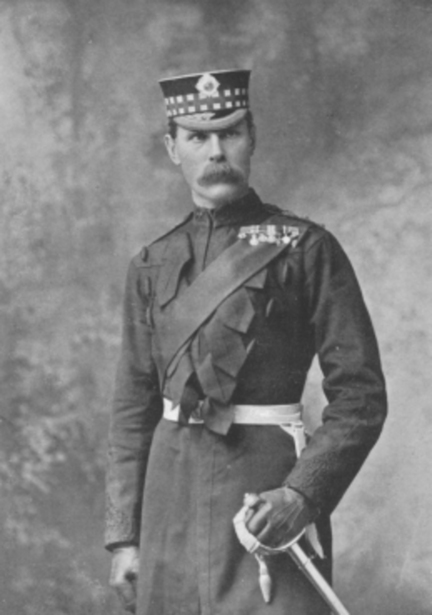General Sir Paul Methuen, 3rd Baron Methuen - he would lead the British relief force to Ladysmith with mixed results.  The experience of his task force would reveal just how challenging the war would be for the British.