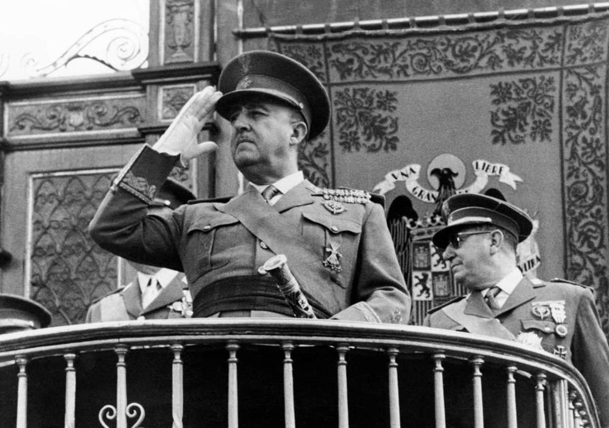 Fransisco Franco, Fascist dictator of Spain