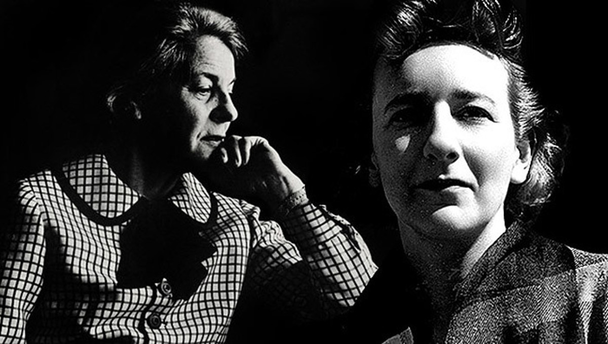 Mary McCarthy and Lillian Hellman.