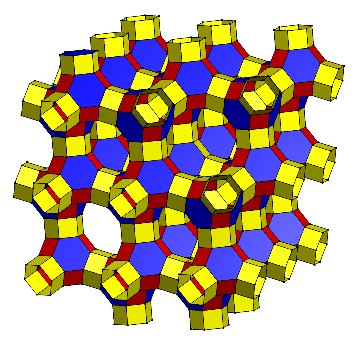 One of several pseudopolyhedrons possible.
