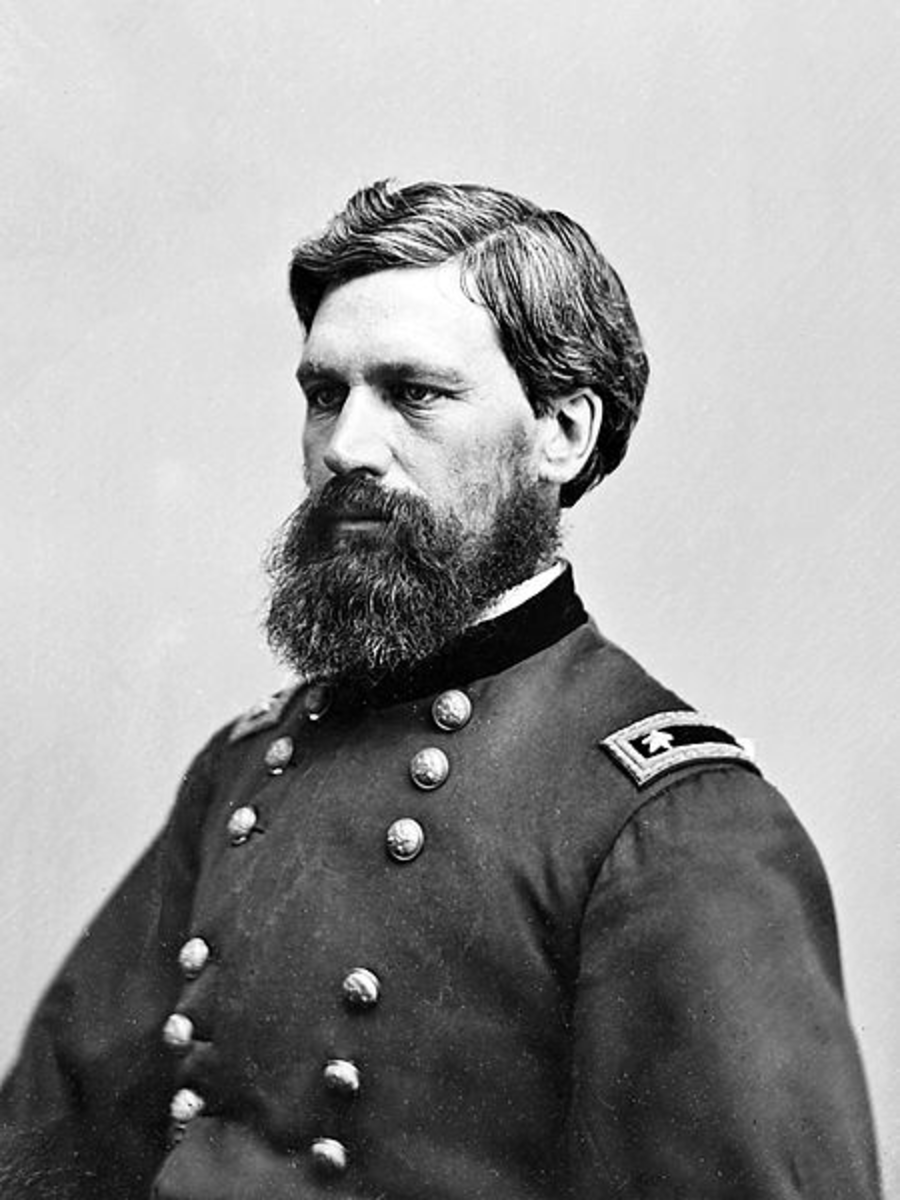 General Oliver O. Howard Between 1855 and1865
