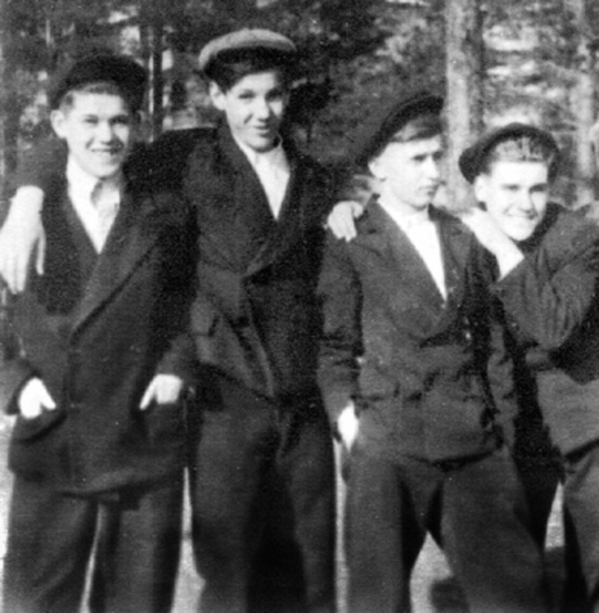 Yeltsin as a young boy.