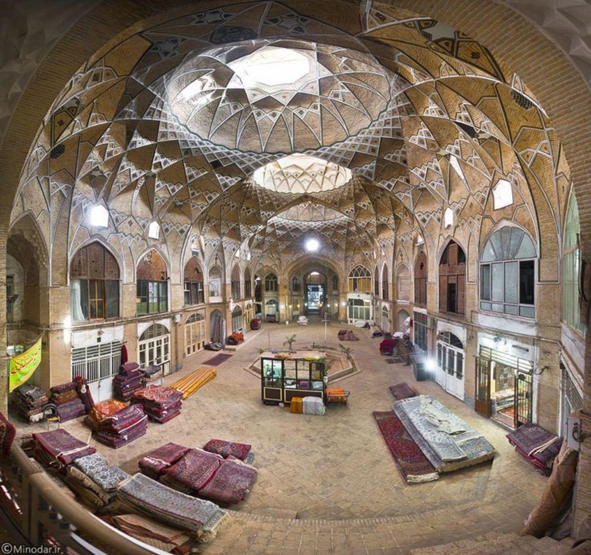 An Iranian Bazaar