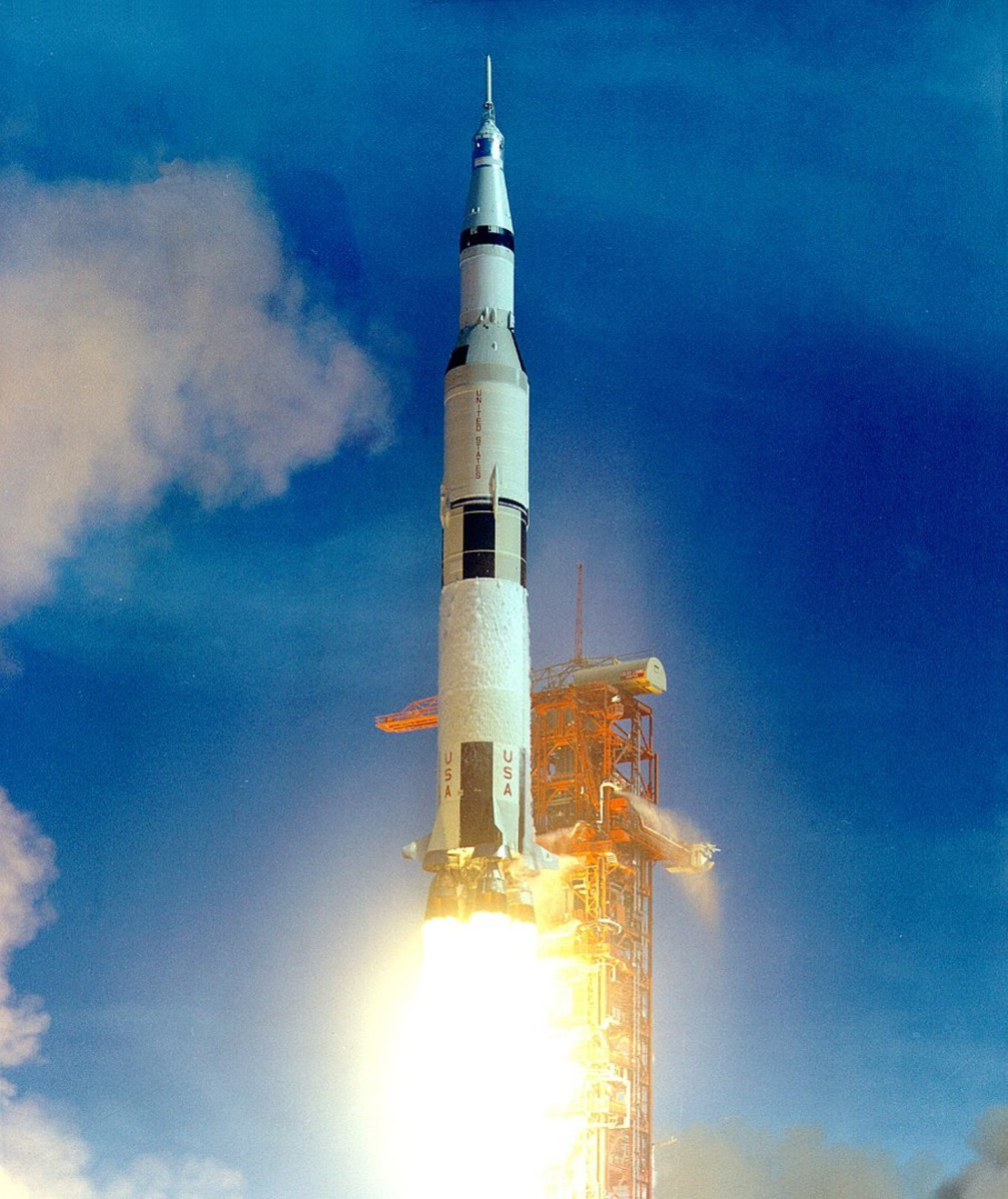 Launch of Saturn V