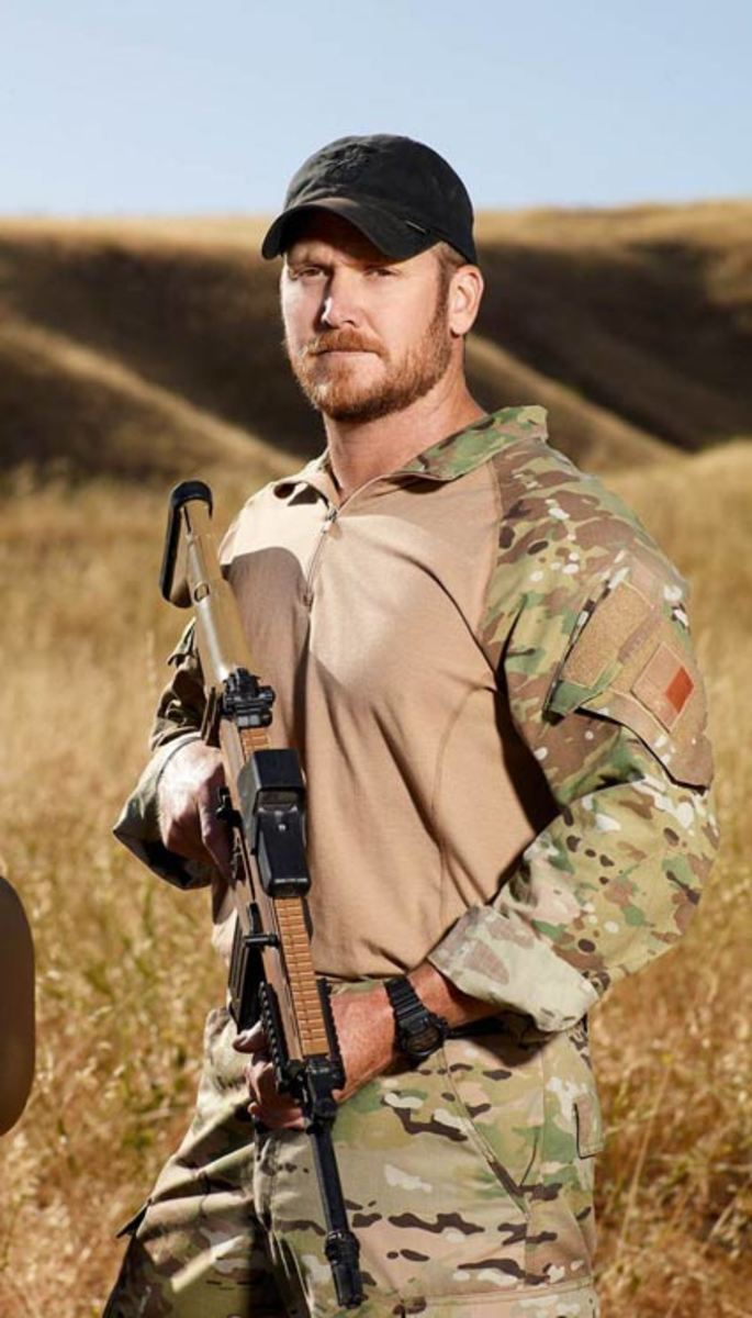 "Chris Kyle. The famous ""American Sniper."""