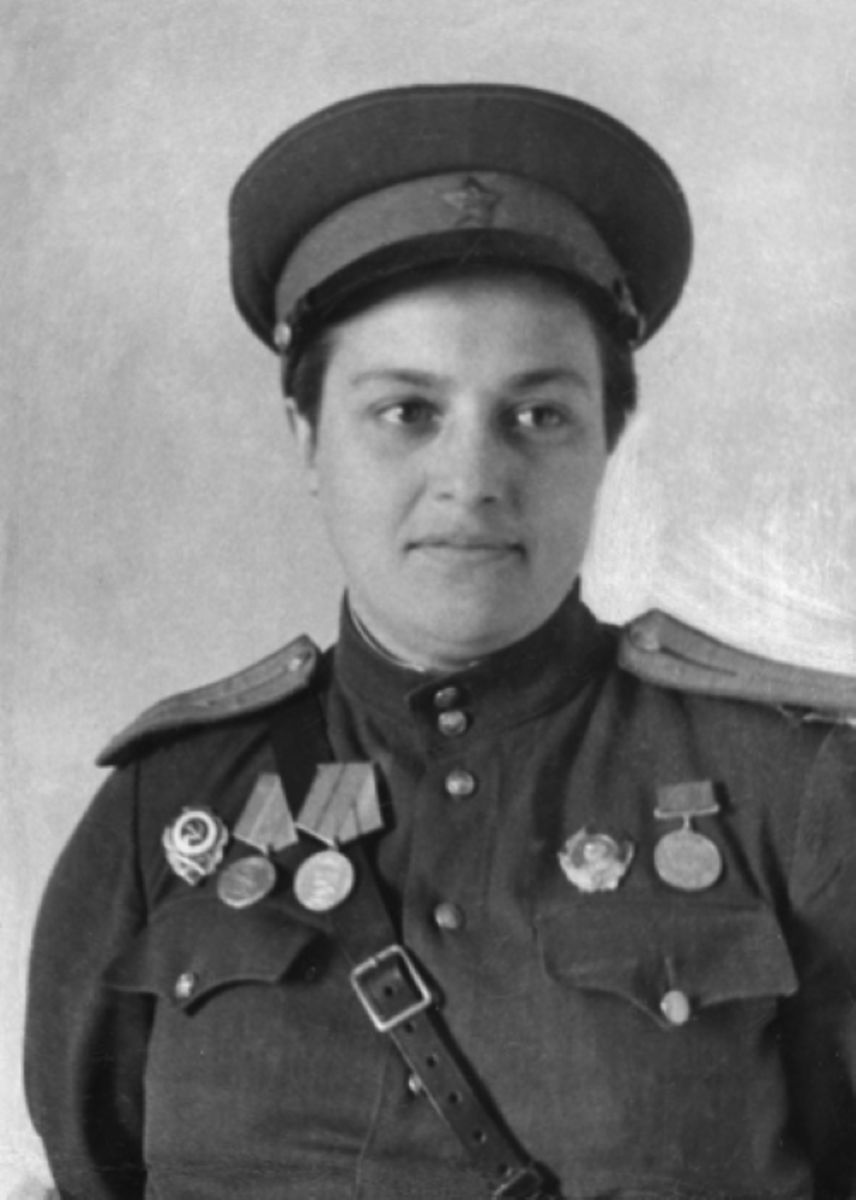 Lyudmila Pavlichenko.