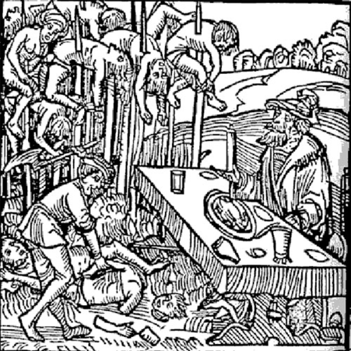 Woodcutting of the infamous 'Forest of the Impaled'