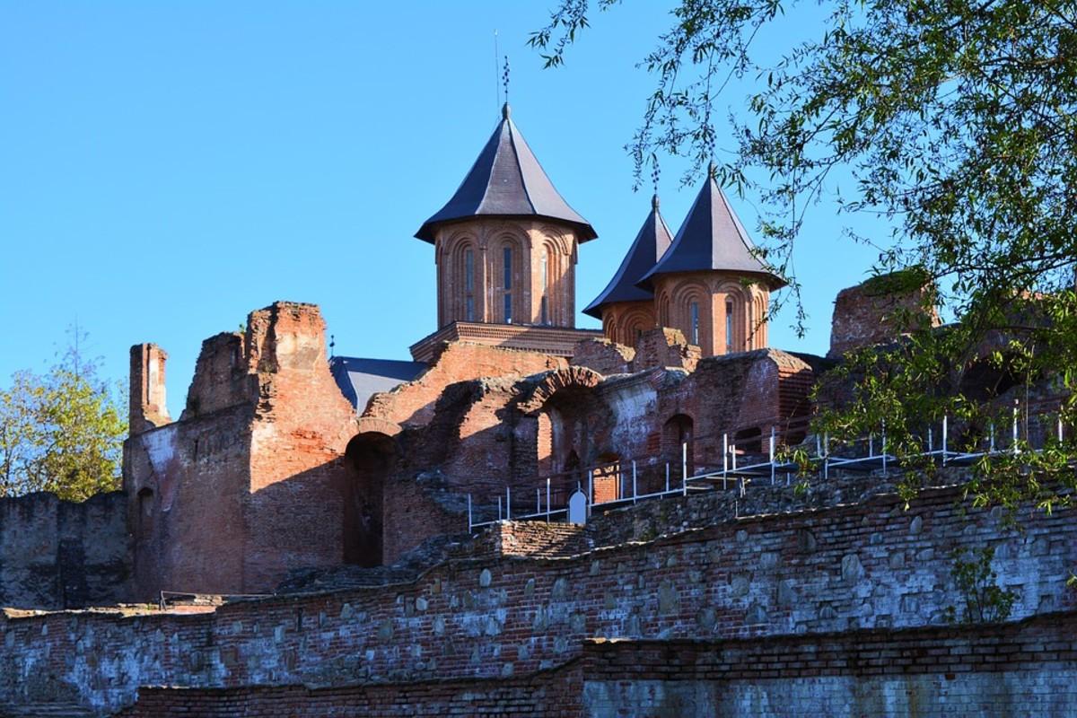 Remaining walls of Tirgoviste Palace