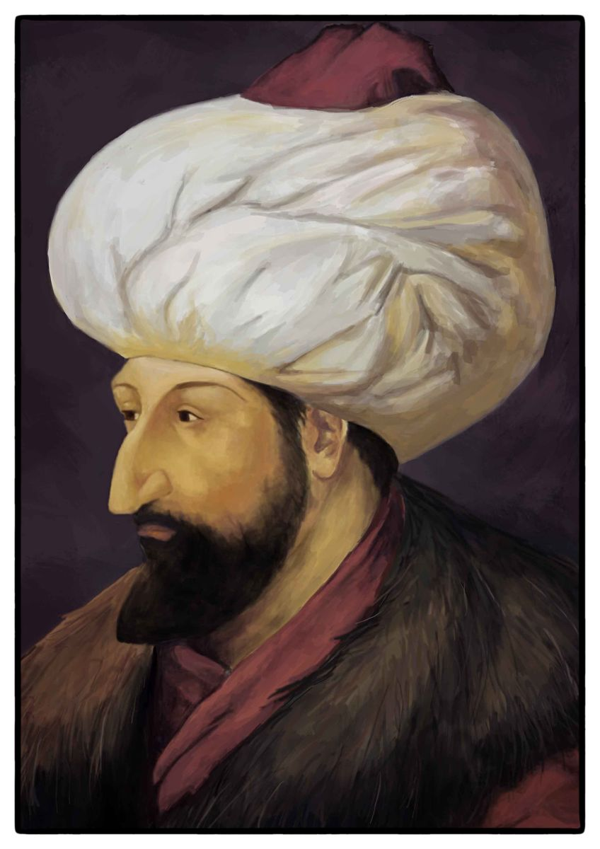 Sultan Mehmed - Ruler of the expansionist Ottoman Empire