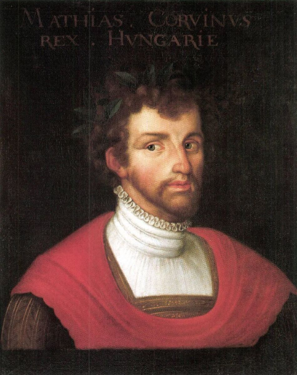 Portrait of Matthias Corvinus