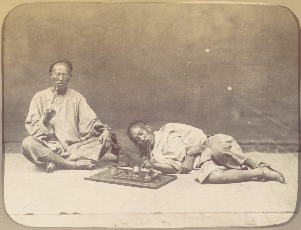Chinese opium addicts.