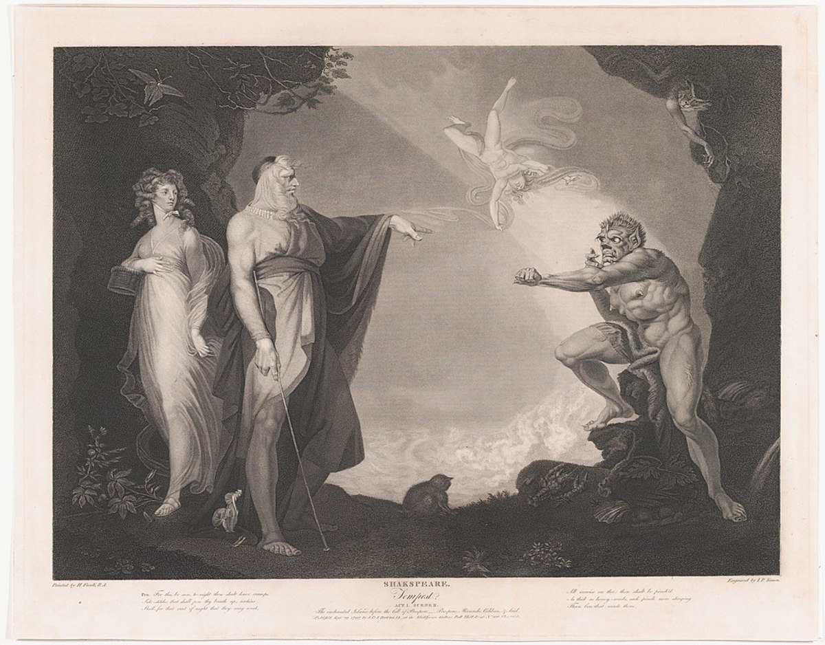 Prospero looms large over the psyche of Caliban: Representing Domination, Erudition, Sophistication
