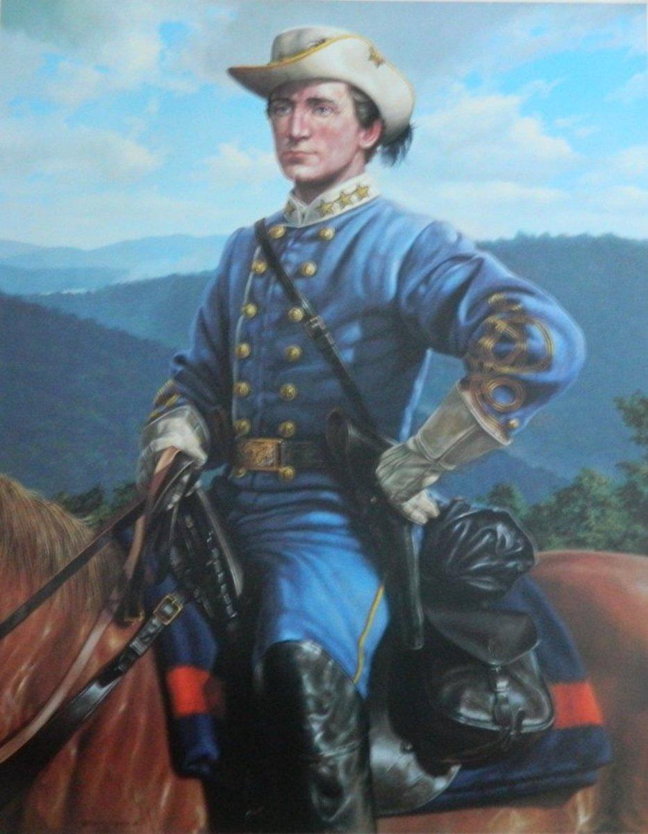 Portrait of Colonel John Singleton Mosby, CSA
