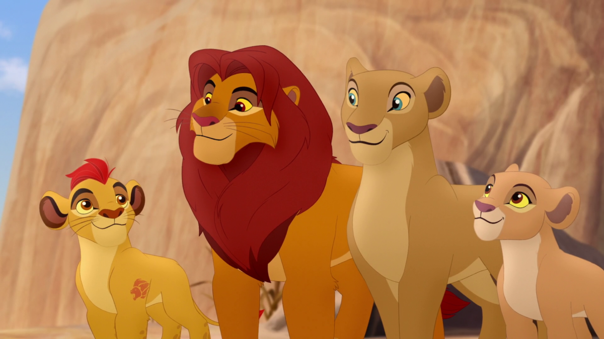 Mufasa and Simba project the ideal characterization of 'The Good King'